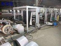 出售二手印刷设备1600型四色普通凹版印刷机 彩印机
