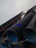 广西柳州低价出售8条波纹塑料管