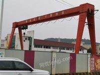 山东济南在位出售一台20吨龙门吊