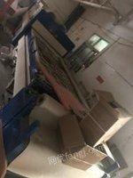 湖北武汉由于地方拆迁吸塑机(双开料机)出售
