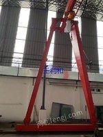 上海二手3吨跨度10.5米葫芦门式起重机急处理