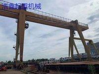 低价 二手50吨造船门吊 双主梁