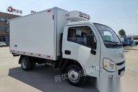 湖北随州转让国六柴油跃进小福星冷藏车厢厂3.3米