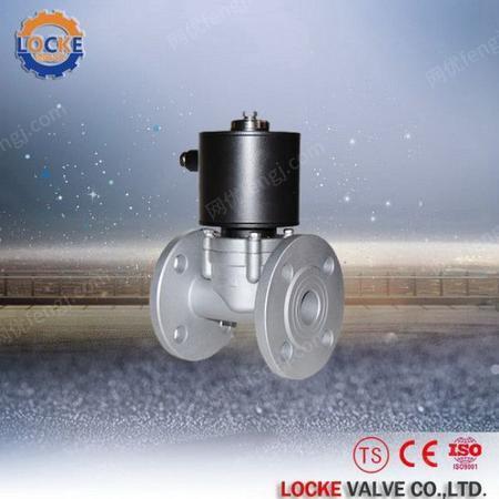 供应进口不锈钢零压启动电磁阀 商品批发价格
