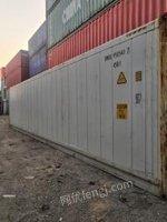 山东潍坊出售二手冷藏集装箱,冷库,改装集装箱房屋,