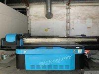 广东深圳转让二手2513平板打印机广告理光平板打印机