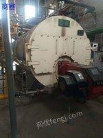 出售16年4吨13公斤压力二手低氮燃气蒸汽锅炉