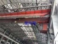 泾海起重二手QD20/5吨双梁行车跨度28.5米出售