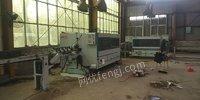 江苏徐州出售木地板生产线,二手进口双侧铣,已闲置