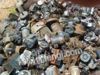 广东高价回收报废电机,报废设备