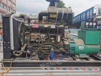 广东东莞出售100kw潍柴二手发电机工厂备用柴油发电机转让