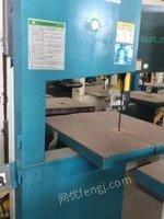 北京昌平区低价出售二手带锯机 方孔钻 卧式带锯