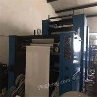 浙江杭州高斯787单色书刊轮转印刷机 二手单色印刷机推荐出售