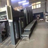 陕西西安转让海德堡sm74-4印刷机多色印刷机四色印刷机价