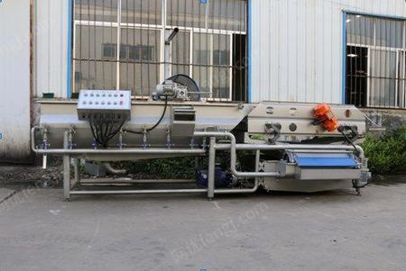 供应卧式涡流螺旋清洗机山东盈灿机械高效优质洁净灭菌
