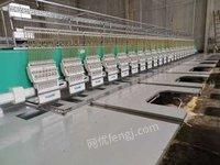 江苏盐城出售二手高速绣花机剪线机提供磨毛机服务