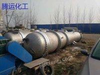 出售二手全钛材15-50-60平方冷凝器