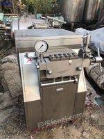 山东济宁出售十台1到6吨高压均质机