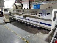 广东东莞低价处理一台普拉迪45000型材机发那科mf系统,低价型材机
