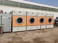 河北沧州出售二手水洗烘干机 工业水洗机 脱水机 锅炉