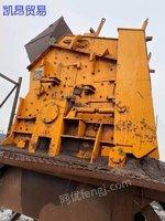 狼牙对辊机一台,时产量100吨左右