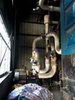 Sale of second-hand biomass organic heat carrier boiler