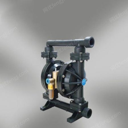 供应QBK铸铁四氟气动隔膜泵