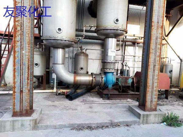 安装未用5吨MVR蒸发器在位出售