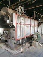 出售二手16年1吨浙江双峰生物质锅炉一台,手续配件齐全,移装已经开好