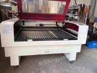 浙江宁波出售二手1390激光雕刻机亚克力pvc木板切割机正常使用