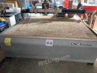 湖北武汉出售国产伺服雕刻机二手大幅面多头木工浮雕机机器正常使用