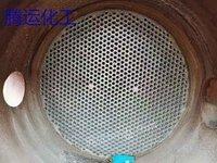 出售2台800平方钛材质列管冷凝器