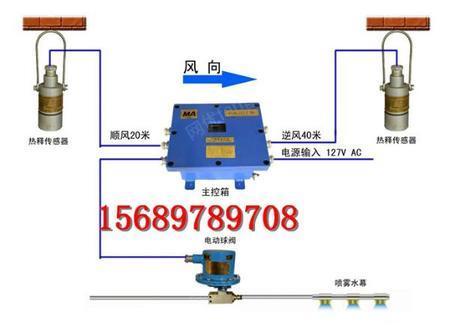 供应红外自动洒水除尘ZP127红外感应煤矿环保设备