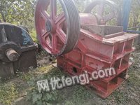 Buying second-hand jaw crusher,type 600*900