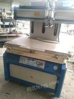 广东中山二手电动精密真空吸气半自动丝印机出售