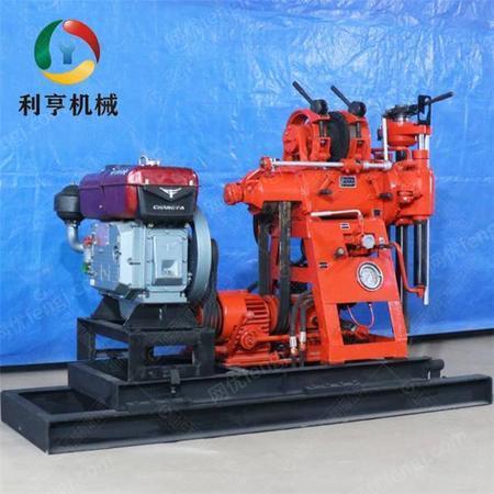 供应轻便液压岩芯钻机 XY-100百米地质勘探钻机 岩石打孔钻井设备