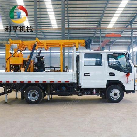 供应供应全液压车载钻机 XYC-200岩心取样设备 可家庭用水井钻机