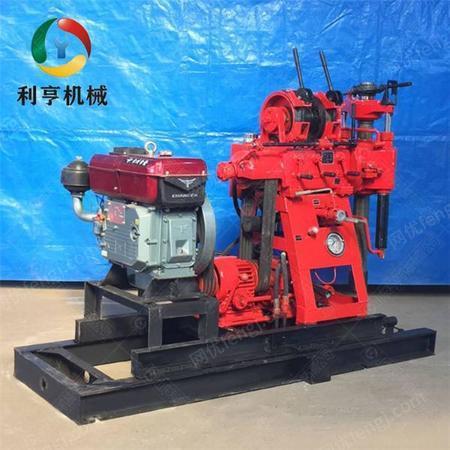 供应小型液压水井钻机 高速机可调节 XY-150百米液压岩芯钻机