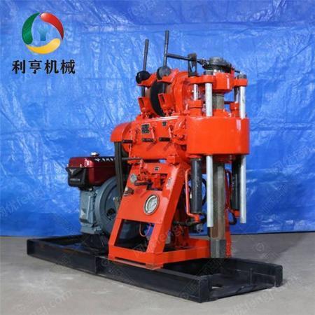 供应家用小型回转式水井钻机 XY-180百米液压岩芯钻机 多功能打井设备