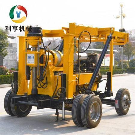 供应轮式液压岩芯取样钻机 XYX-3型地质勘探钻机 供应轻便打井设备