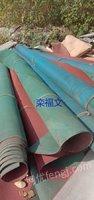 长期回收造纸厂废旧干网毛布1