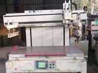 广东东莞便宜出售拉网机打孔机 印刷设备 全自动大型丝印机