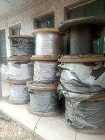 出售长期面向全国购销各种规格二手钢丝绳,镀锌绳,钢