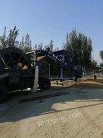 山东枣庄滕州市,移动洗沙机,移动制沙机,移动筛沙机出售。