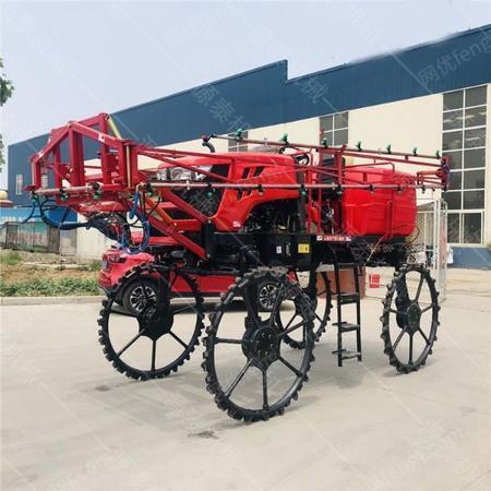 供应小麦玉米打药车  水田施肥打药车 四驱50马力撒肥车