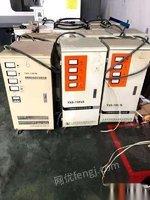 江苏苏州转让6台15千瓦稳压器便宜处理,,有需要的老板联系