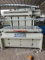 广东清远低价处理二手大台面丝印机70*160台面。