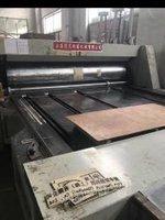 四川成都低价转让上海得灵双色印刷开槽机