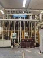 上海崇明县本公司现货出售迪芬巴赫贴面压机两套/刨花板生产线