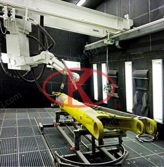 上海良时供应喷砂机器人/喷丸机器人